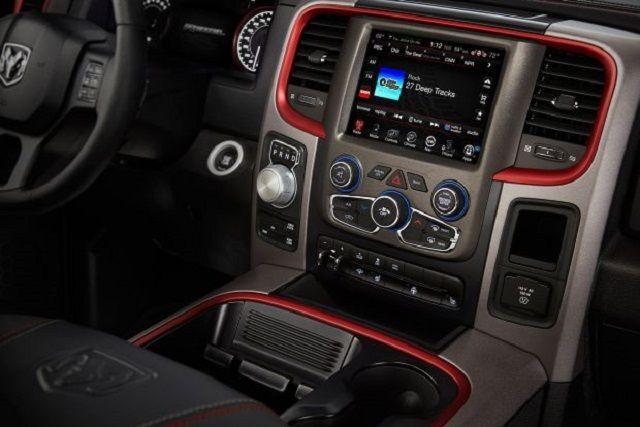 2017 Dodge Ram 1500 Srt Hellcat Interior