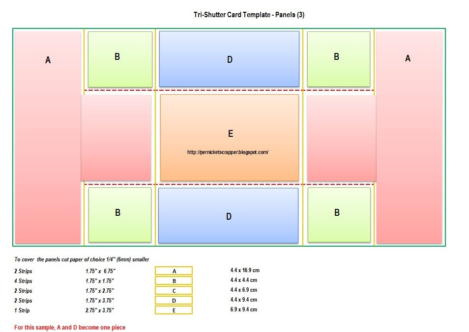 double gate fold card template Archives - Southbay Robot