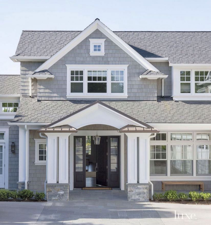 Kind Of Like Painted Fascia On Porch Exteriors Pinterest - Exterior-windows-design