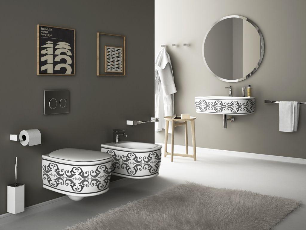 Bagno Invalidi ~ Best bagno decorato decor bathroom images bath