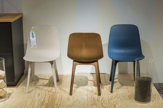 Nouveautés Ikea : des chaises réalisées à partir de matériaux recyclés