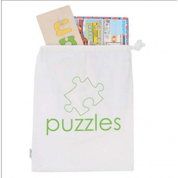 mor-stor Cooper Canvas Puzzle Bag