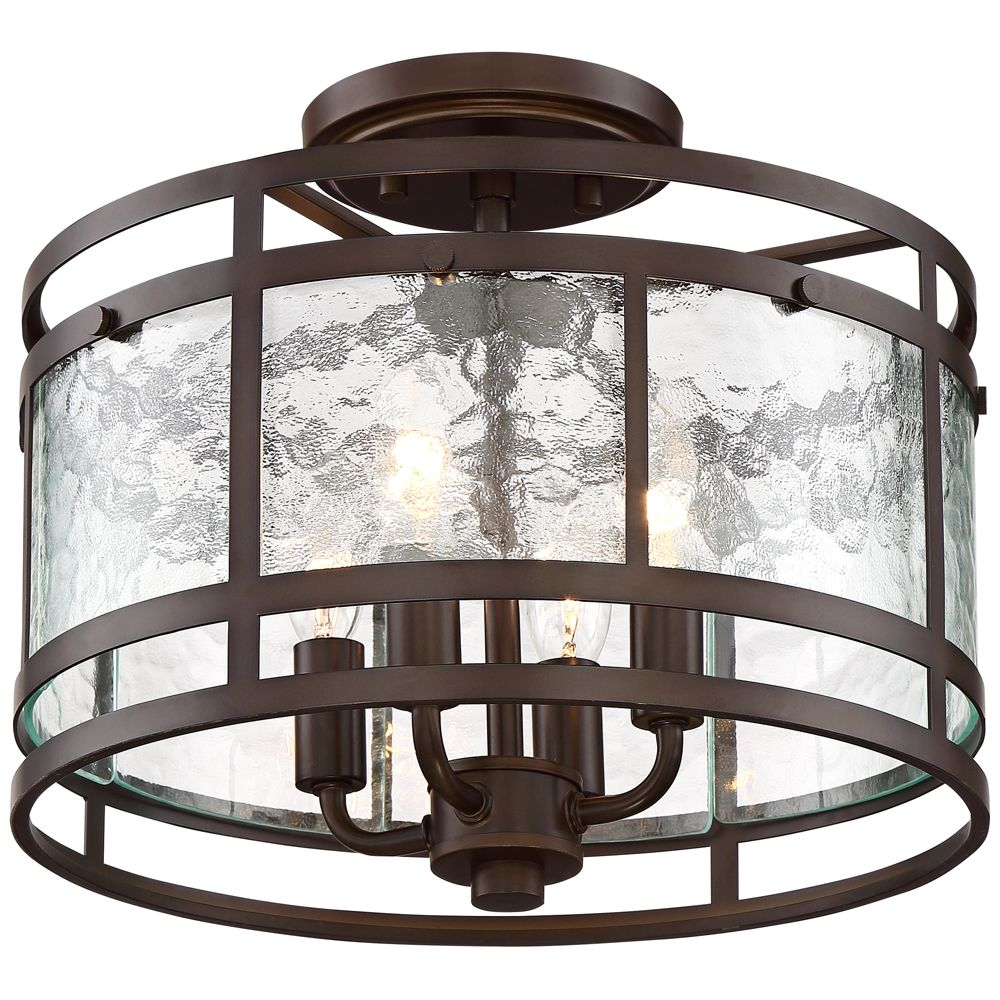 Elwood 13 1 4 Wide Oil Rubbed Bronze 4 Light Ceiling Light Style 65m13 Ceiling Lights Industrial Ceiling Lights Bronze Light Fixture Oil rubbed bronze ceiling light fixtures