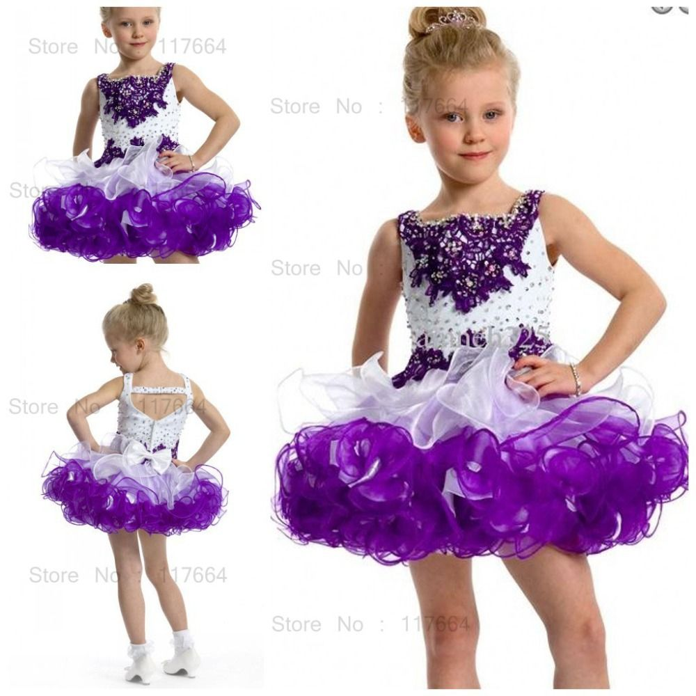 Girls Pageant Dress Patterns | Pageant Dresses Girls Short Pageant ...
