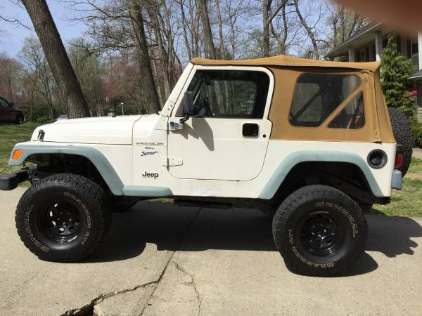 1997 Jeep Wrangler Tj Low Miles Lifted 1997 Jeep Wrangler Jeep Wrangler Tj Wrangler Tj