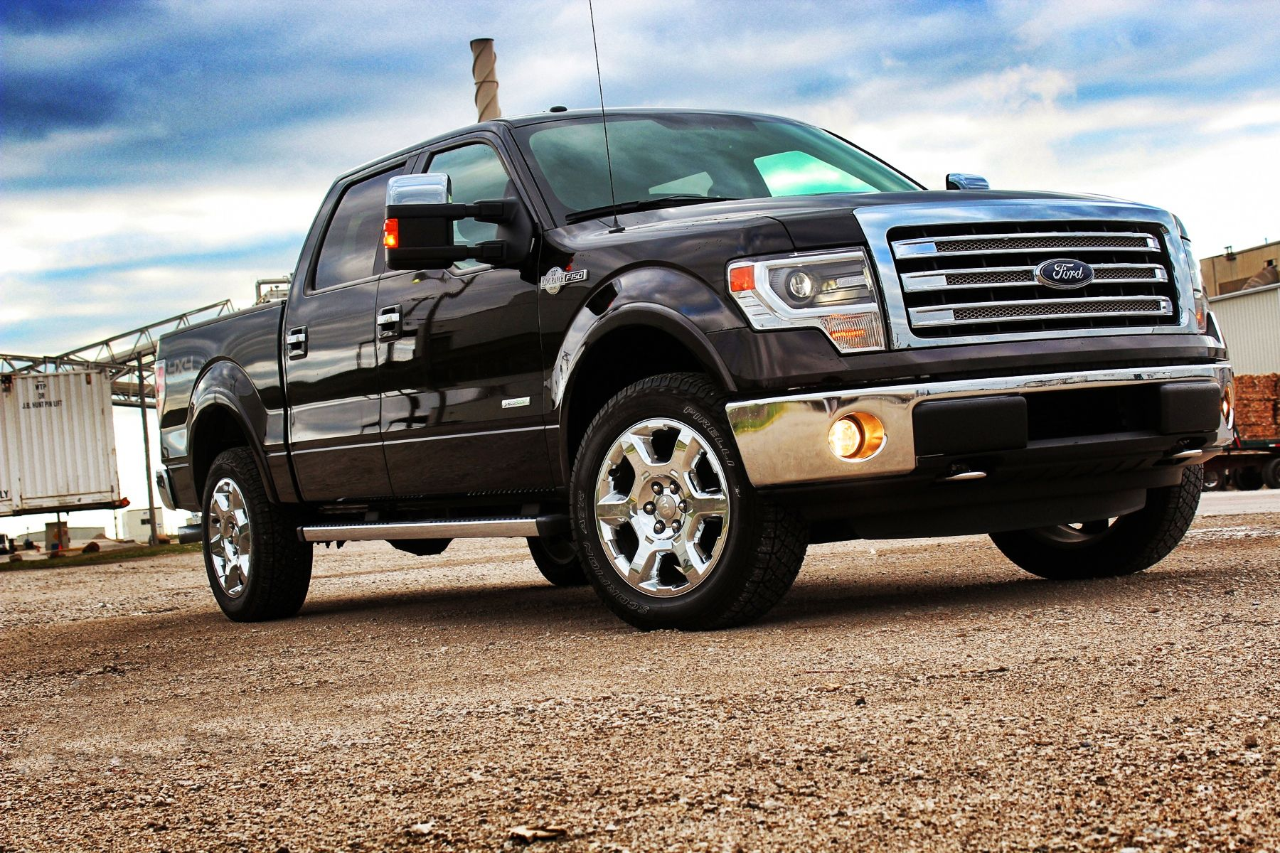 The 2014 ford f series is americas best selling truck for 37 years