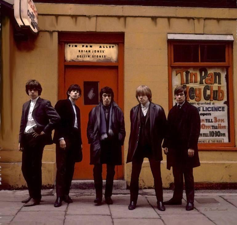 Rolling Stones Tin Pan Alley Brian Jones