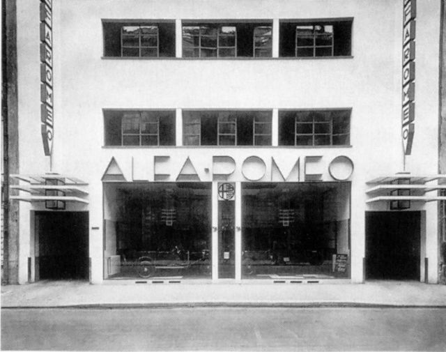 le garage maryland alfa romeo construit juste c t en 1927 par mallet stevens quelle rue. Black Bedroom Furniture Sets. Home Design Ideas