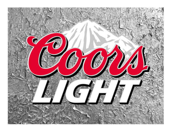Coors Light Custom Edible Image Just Pop It On Your Frosted Cake All Sizes Rounds For Cakes Cupcakes Too Edible Images Coors Light Edible Image Cake