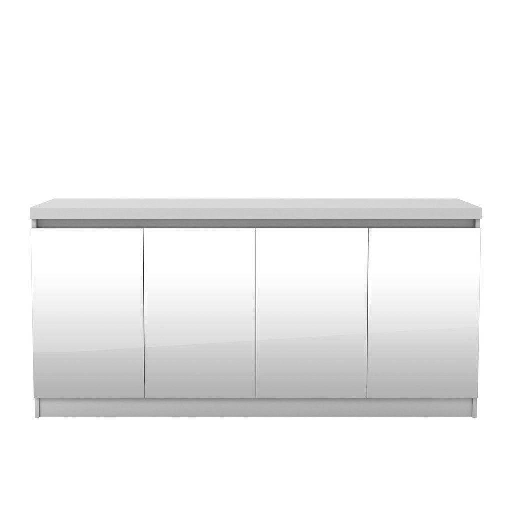 Lazio classic secretary desk in tobacco simple compact and modern