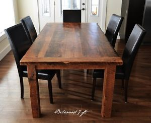 Ontario Barnwood Tables Mennonite Built Dining Tables And Sets