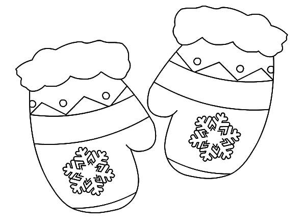Beautiful Ideas Mitten Coloring Pages M Is For Mittens Coloring ...