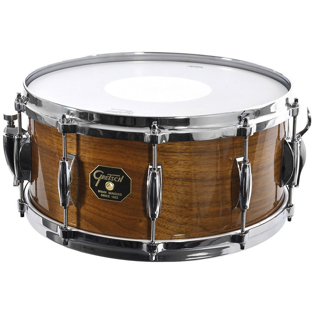 gretsch usa custom g 5000 solid walnut snare drum gretsch snare gretsch drums snare. Black Bedroom Furniture Sets. Home Design Ideas