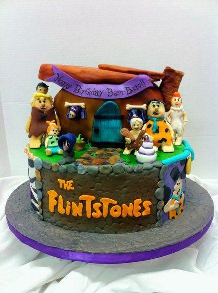 Flinstones Cakes Birthday Cake Cake Cupcake Cakes