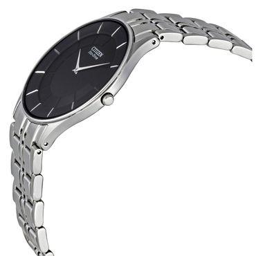 44ff18d76c8 Citizen Stilletto Slim Eco-drive Men s Black Dial Watch AR3010-57E ...