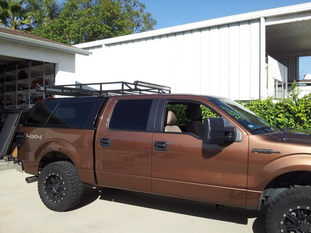 Camper Shell Roof Racks - Expedition Portal   DIY topper ...