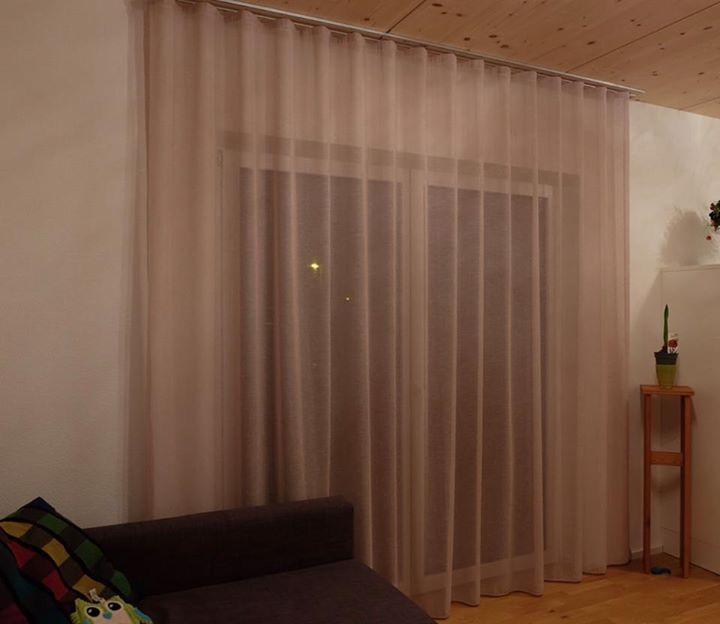 Wohnlicher S Wave Vorhang Im Wohnzimmer Farbe ... ✨No Limits Just Style