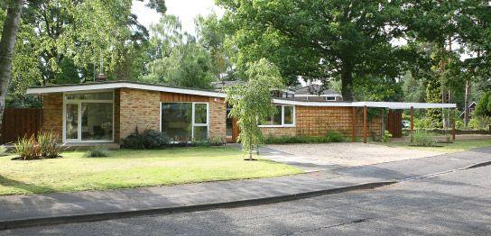 Mid century bungalow