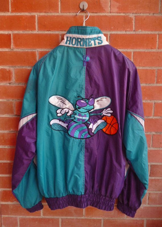 70018ebd36b Vintage CHARLOTTE HORNETS Pro Player by THRIFTEDISABELLE on Etsy ...