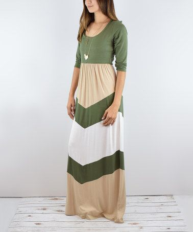 Chevron Maxi Dresses for Sims 4