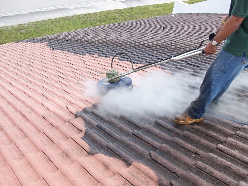 Sydney Roofcleaning with highpressure washing is
