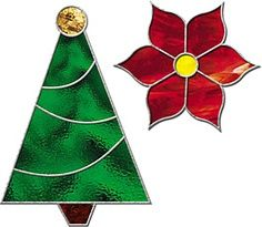 Free Stained Glass Ornament Pattern Claudia Get The Free Pattern For Christmas Tree And Stained Glass Candles Stained Glass Christmas Stained Glass Ornaments