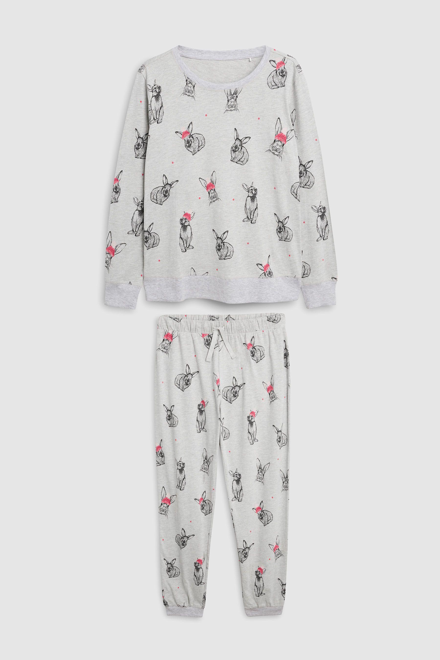 59f7b0bb86 Buy Christmas Bunny Pyjamas With Ribbon Wrapping מנקסט ישראל ...