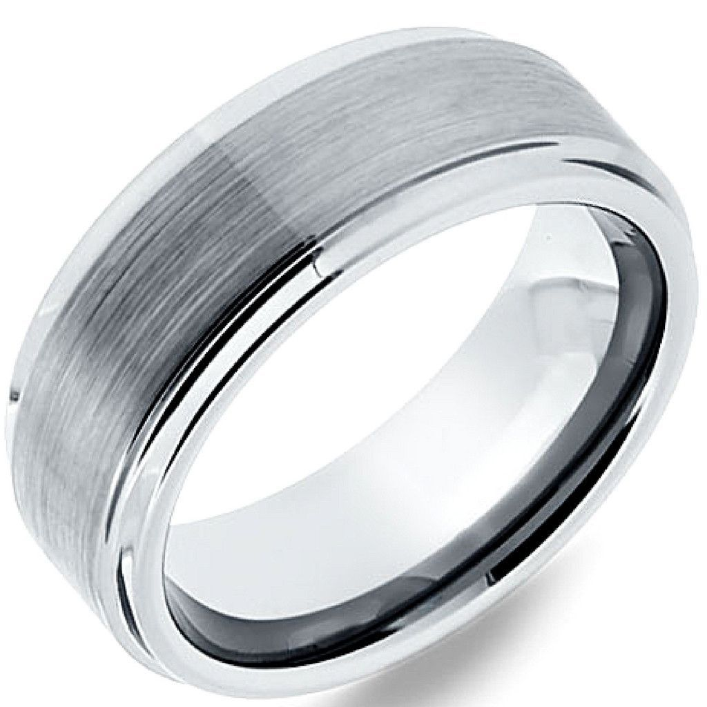 Remarkable mens wedding band designed for comfort and durability. Crafted and designed with the highest quality tungsten carbide. Only $104.96 & free shipping. Mens or women's.