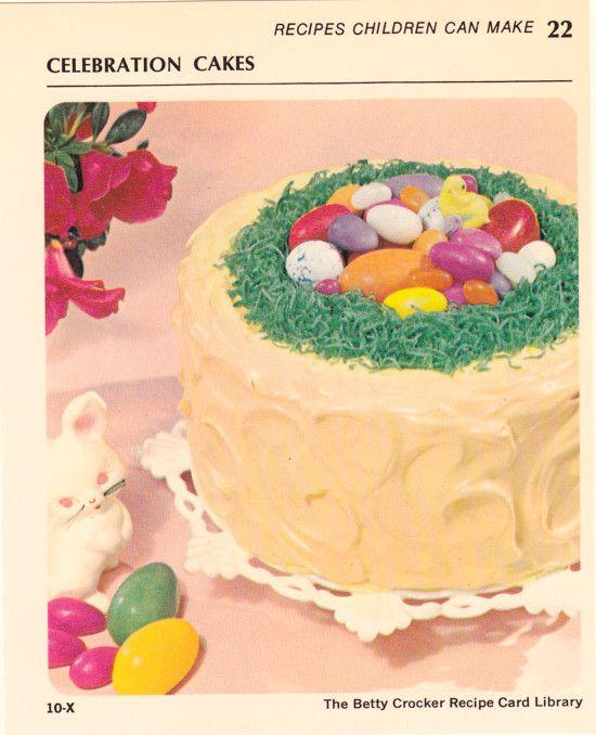 Celebration Cake By Betty Crocker Easter Themed Betty Crocker