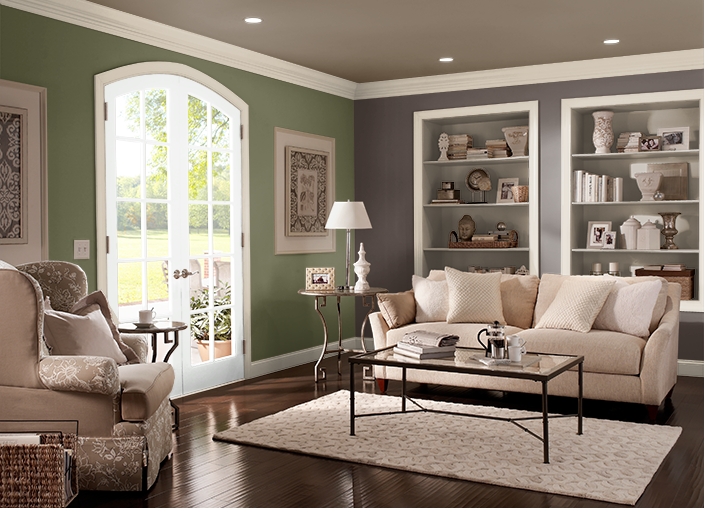 Mobili Bamboo ~ This is the project i created on behr.com. i used these colors