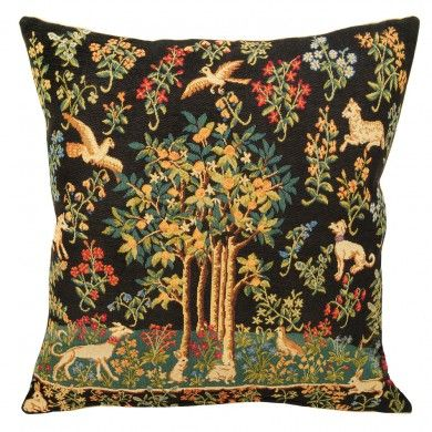 Tree and animal cushion - Historic Royal Palaces online gift shop