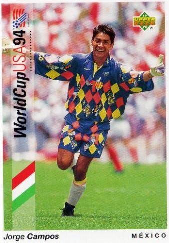 6f2fa758975 Jorge Campos, Mexico World Cup 1994 #idolos | personajes | #lideres |  pachucochilango.com