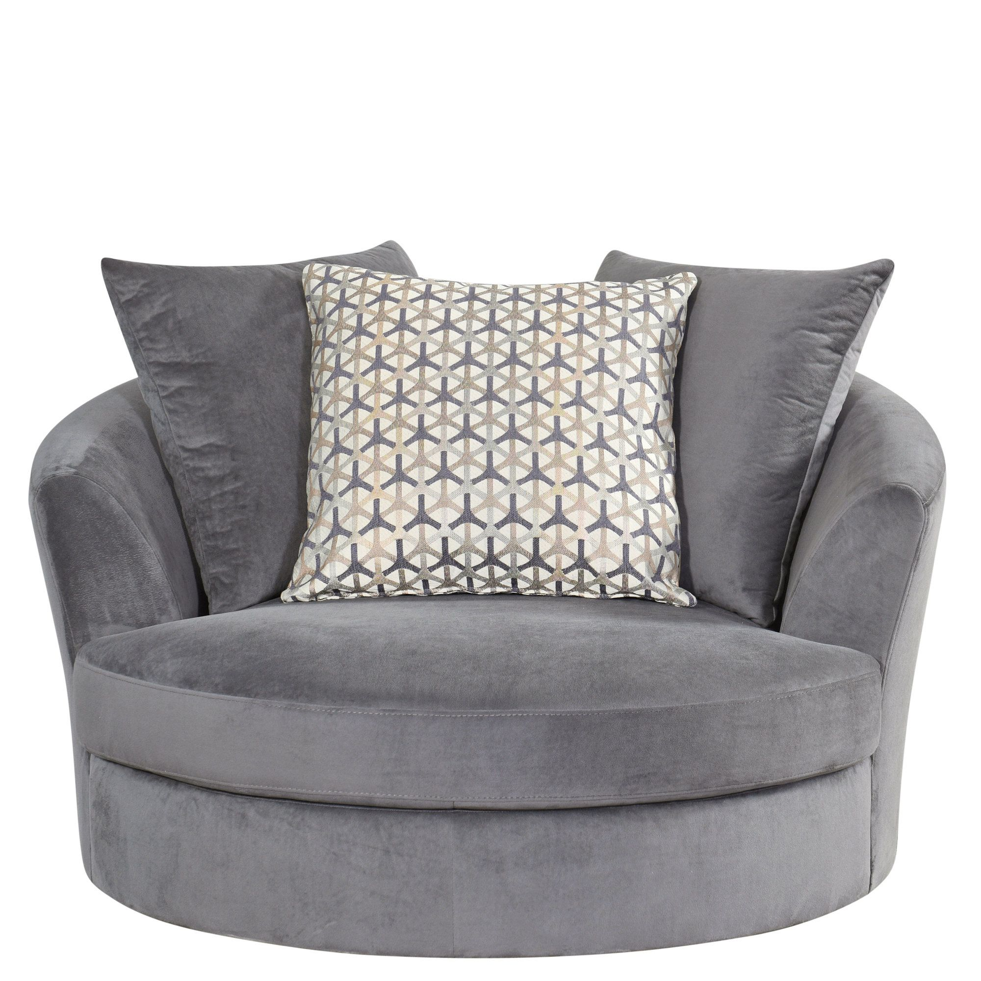 Atkin Swivel Barrel Chair for the theater