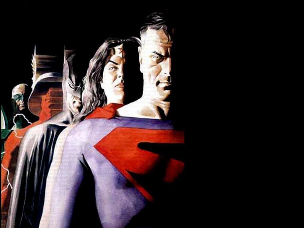 Wallpaper Superman Kingdom Comes By Alex Ross Personagens De