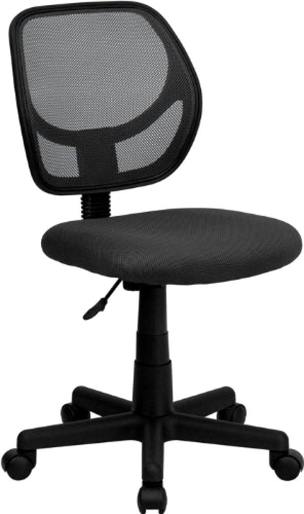 flash furniture chair mid back mesh chair grey computer chair