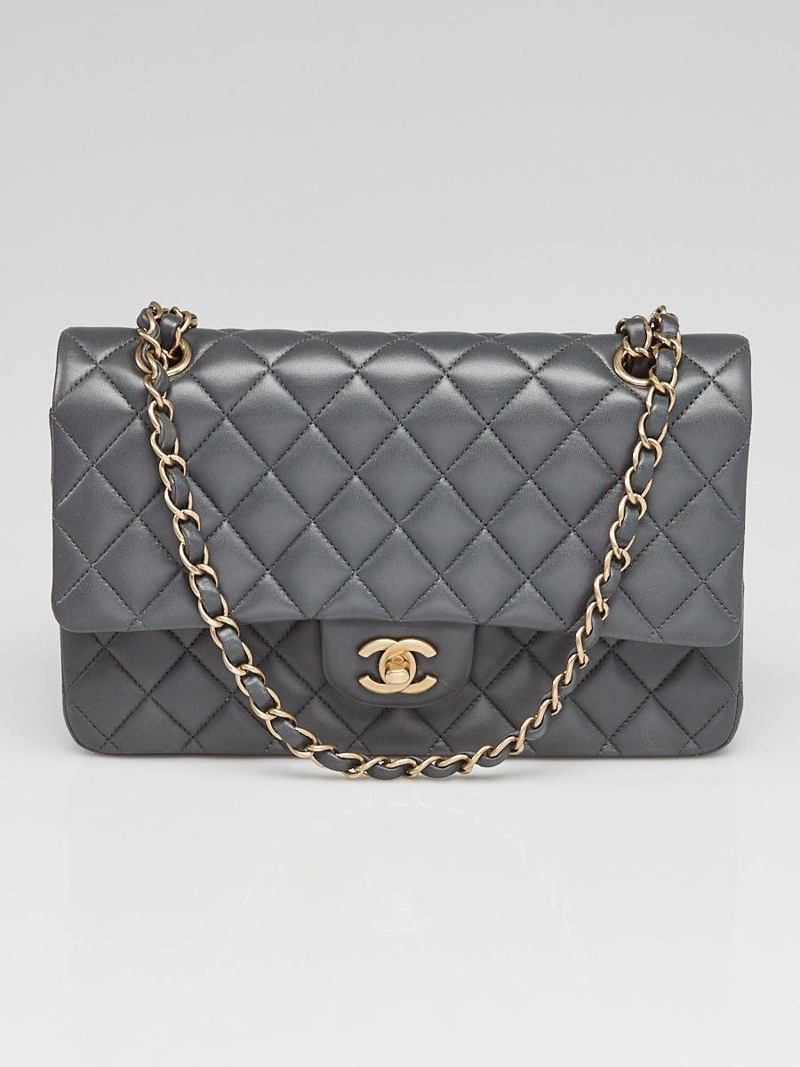 affb17b25ed536 Chanel Purple Lambskin Leather Lion's Head Classic Flap Shoulder Bag ...