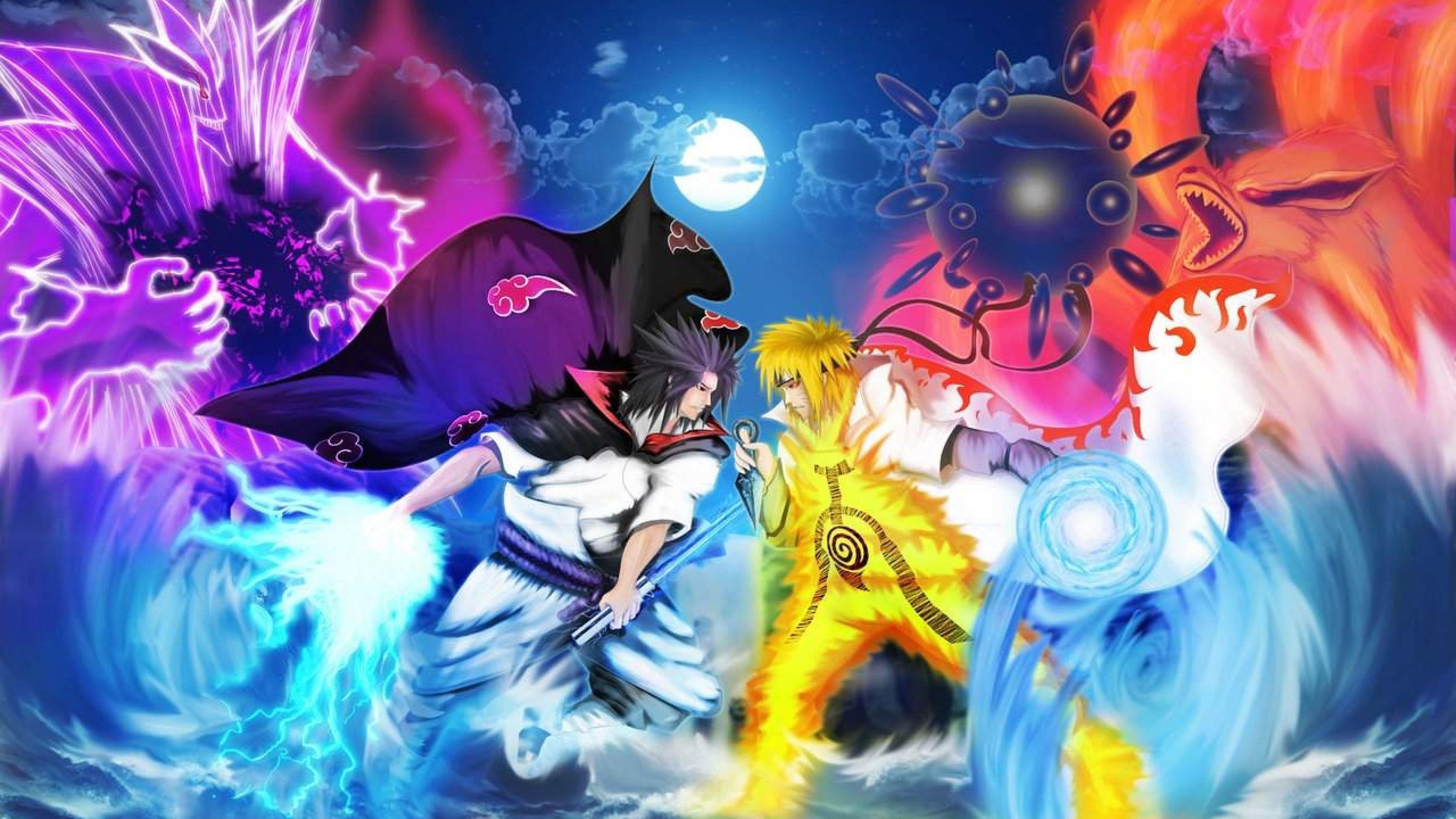 Naruto Vs Sasuke In 2020 Naruto And Sasuke Wallpaper Anime Wallpaper Naruto Vs Sasuke