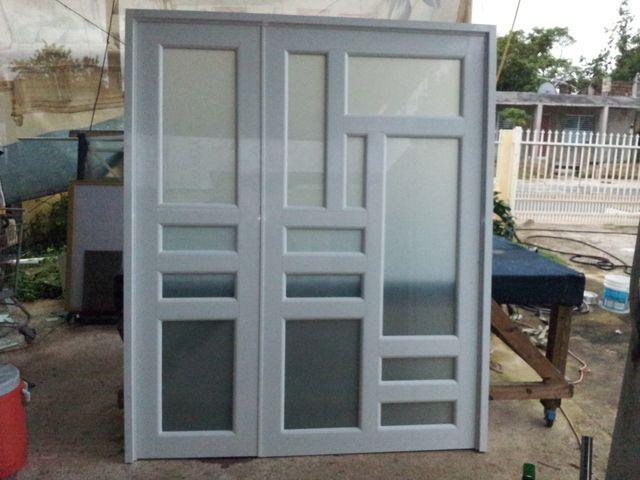 Puerta ventana de aluminio affordable mampara de ducha Duchas modernas puerto rico