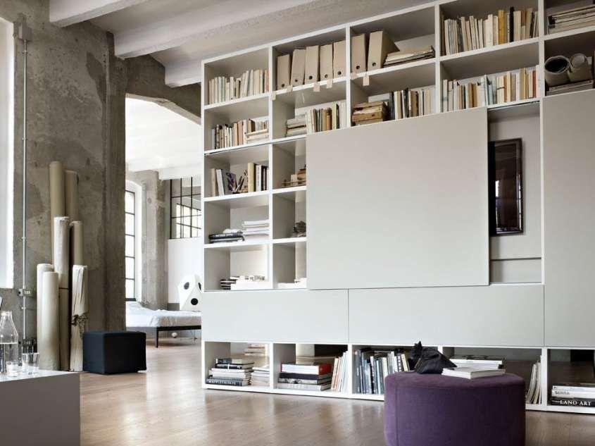 Librerie componibili modulari - Mobili capienti per la casa