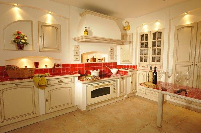 cuisine provençale intégrée rustique. aathena cuisiniste ... - Cuisine Equipee Style Provencale