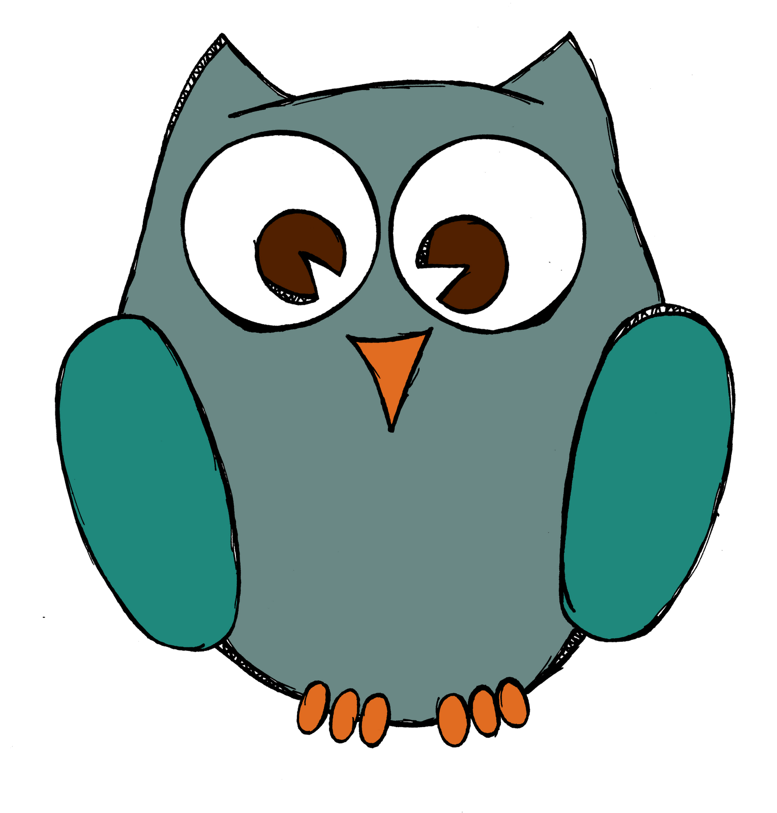 Simple Owl Drawings | Posted by Bri at 12:37 PM 9 comments: