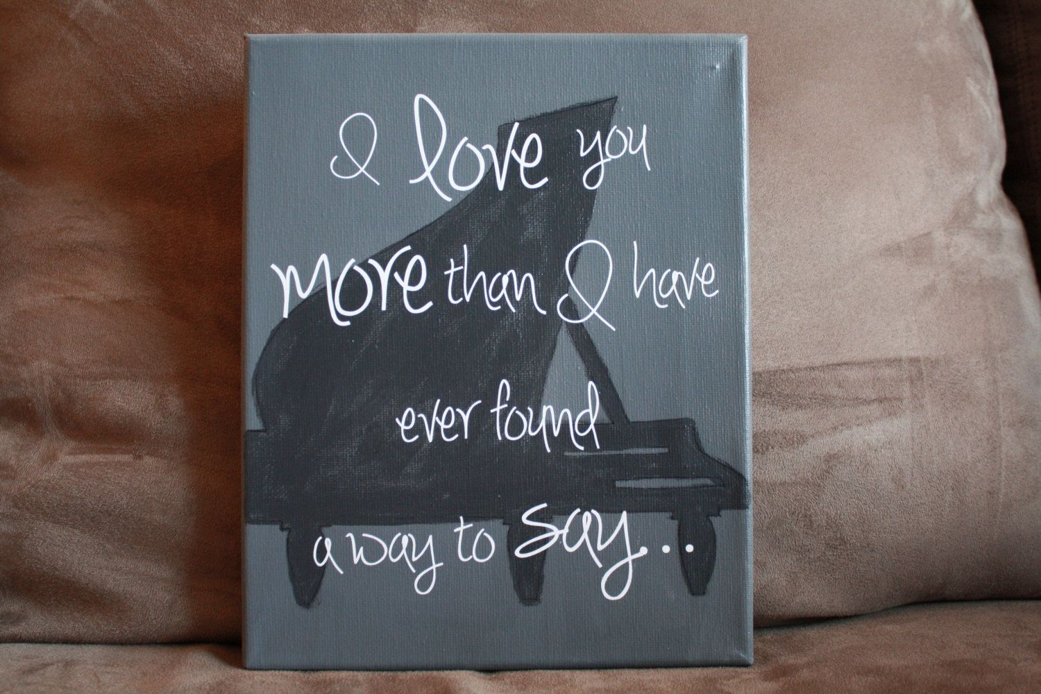 Ben Folds Canvas Quote.Etsy.