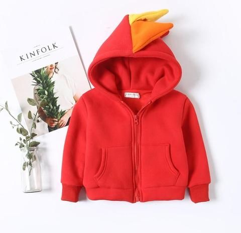 Limited Collection Rainbow Dinosaur Jacket♥ The most appropriate outfit for your dinosaurs! :) #trend #fashion #kids #kidsfashion #girlfashion #boyfashion #boy #babygirl #babyboy #shopping #kidsjacket #dinosaur #funnyclothes
