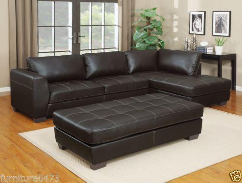 Brown Or Black Leather Corner Sofa Sofa Bed Suite Lh Or Rh Luna Rh Leather Corner Sofa Corner Sectional Sofa Furniture