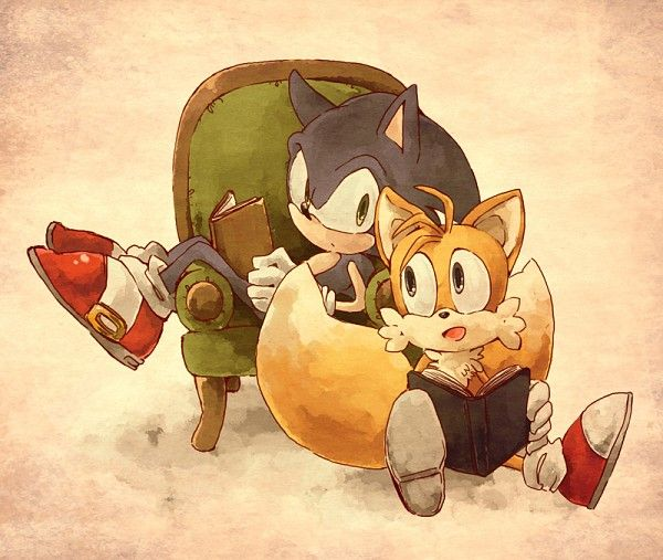 """""""My name is Miles Prower, but everyone calls me Tails."""""""