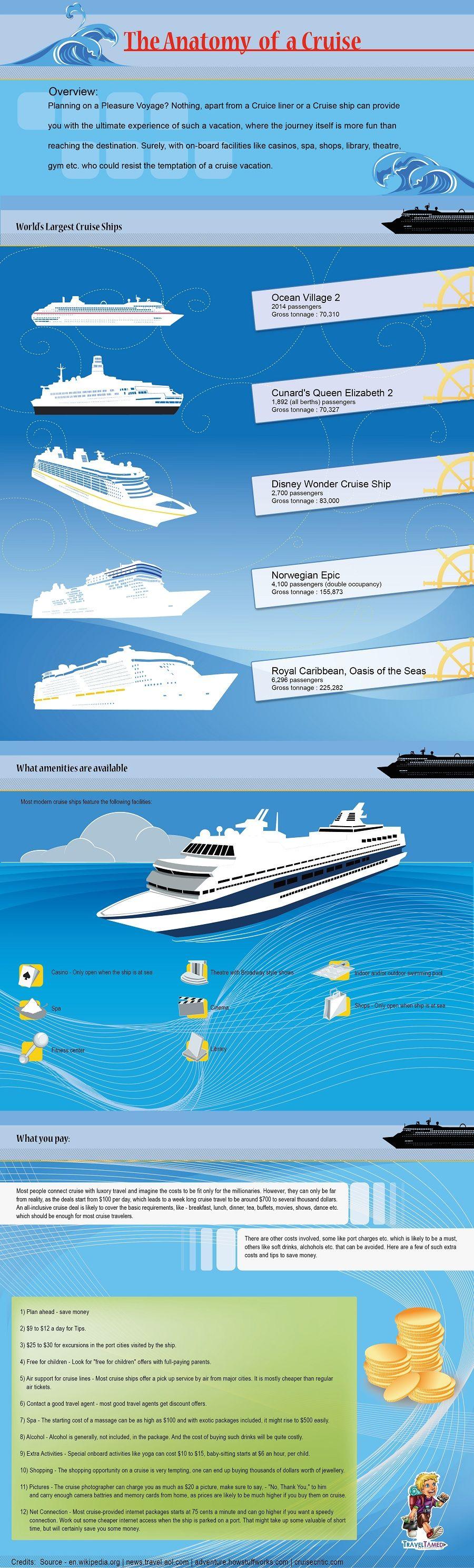 A fun intro to cruising infographic.