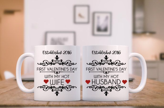 First Valentines Day Hot Wife Hot Husband First Valentines