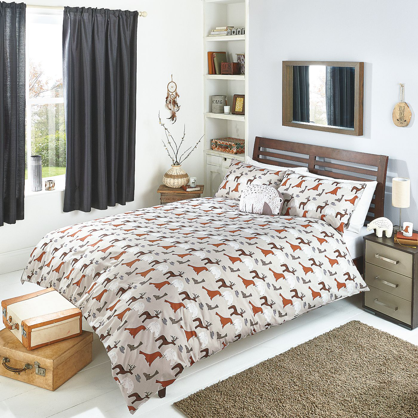 George Home Tundra Animals Duvet Bedding ASDA direct