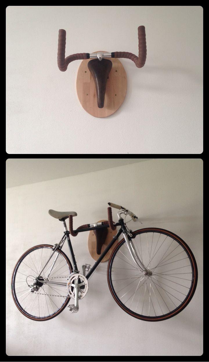 Bezaubernd Upcycling Fahrrad Das Beste Von Wandhalterung Geweih
