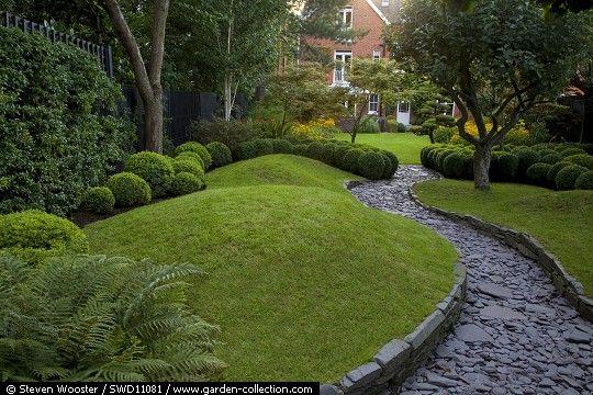 In Detail Swd11081 Boxwood Garden Garden Design Lawn Design